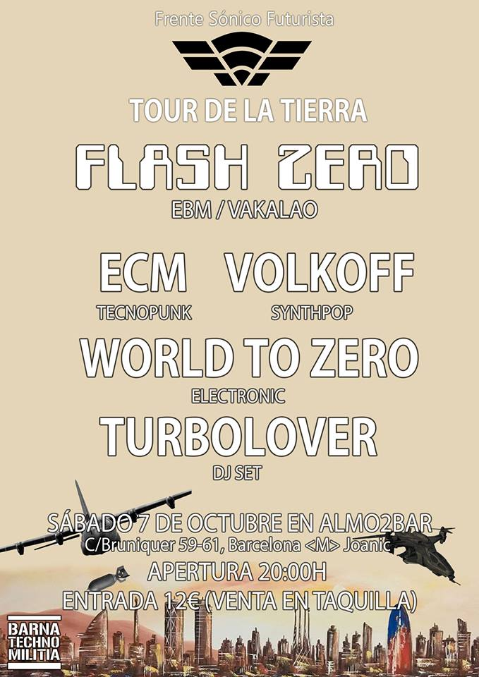 Flash Zero Barcelona FSF