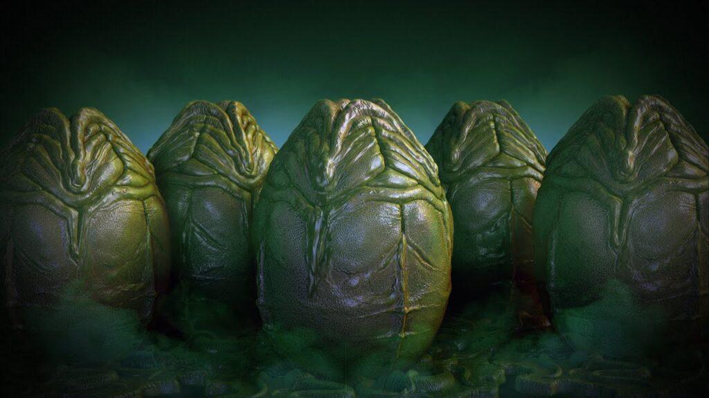 alien eggs